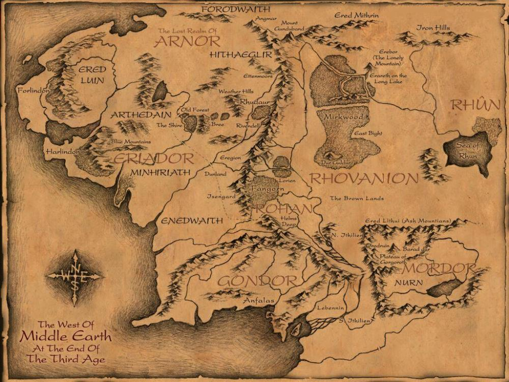 The_Map_of_Middle_Earth
